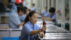 China's Manufacturing Activity Squeezed For The Sixth Straight Month