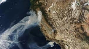 Images Of California's Wildfires Captured By NASA's Satellite