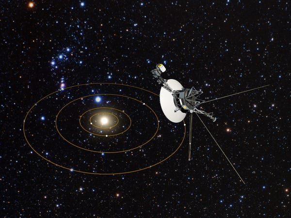 Voyager 2 Discovers Additional Layer Exterior To Our Solar System
