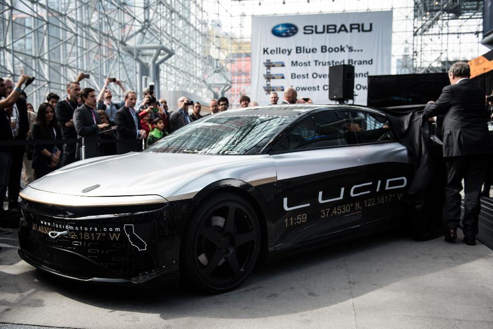 Lucid Motors starts dedicated factory for Lucid Air