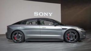 Sony comes up with its vehicle design in CES 2020 known as Vision-S